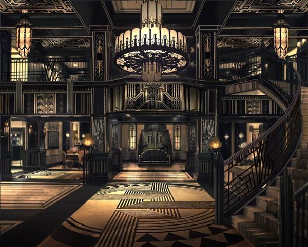 电视剧《远大前程》潮州会馆大厅概念图,黑焰项目组