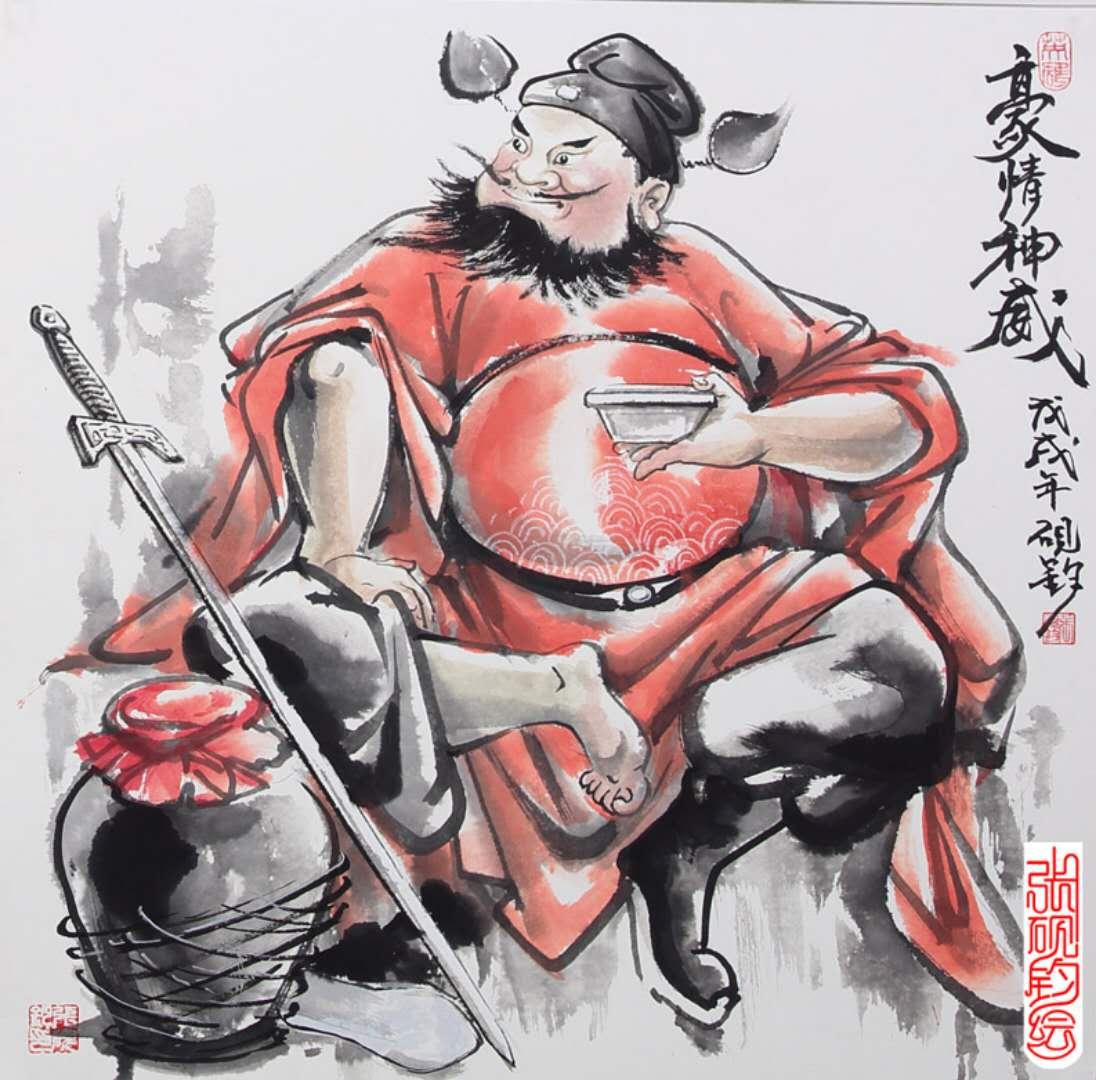著名画家张砚钧2018新作鉴赏-水墨系列之二