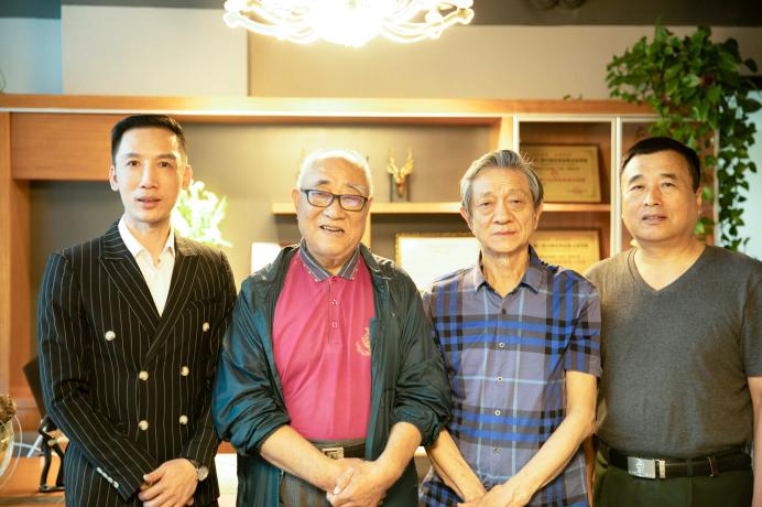 华夏形象传媒顾问黄国瑞等一行来公司指导工作